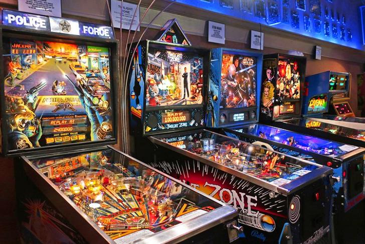 pinball machines in app pinball museum