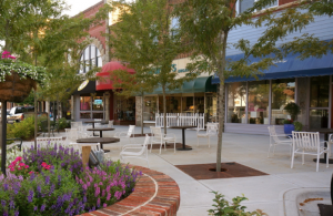 downtown hendersonville, NC