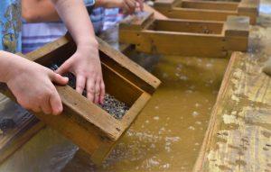 child gem mining in hendersonville, nc