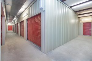 indoor storage unit, climate controlled
